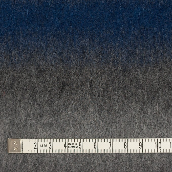 ウール&カシミア×オンブレ(ブルー&グレー)×ビーバー_全2色 イメージ4
