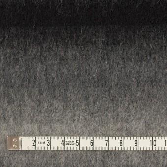 ウール&カシミア×オンブレ(ブラック&グレー)×ビーバー_全2色 サムネイル4