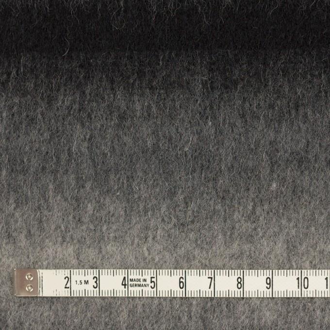 ウール&カシミア×オンブレ(ブラック&グレー)×ビーバー_全2色 イメージ4