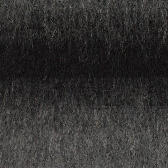 ウール&カシミア×オンブレ(ブラック&グレー)×ビーバー_全2色