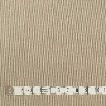 コットン×無地(ベージュ&ダークブラウン)×シャンブレーチノクロス_全3色 サムネイル3