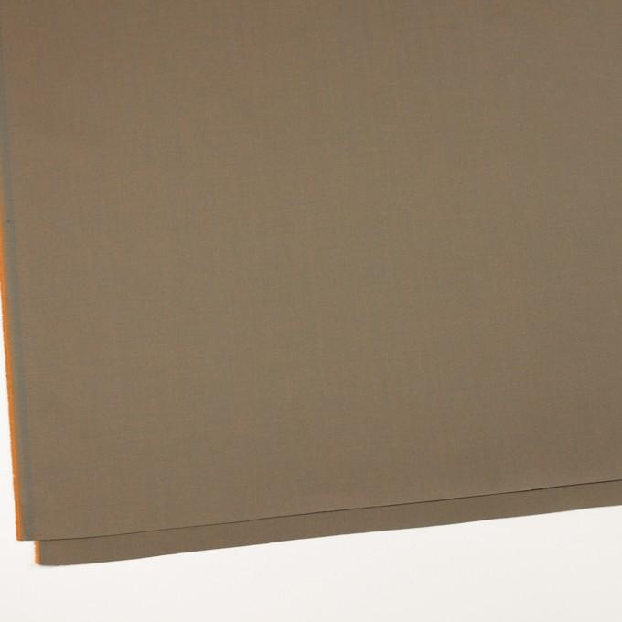 コットン×無地(スレートグリーン&パンプキン)×シャンブレーチノクロス_全3色 イメージ2