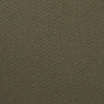 コットン×無地(カーキグレー)×チノクロス_全5色