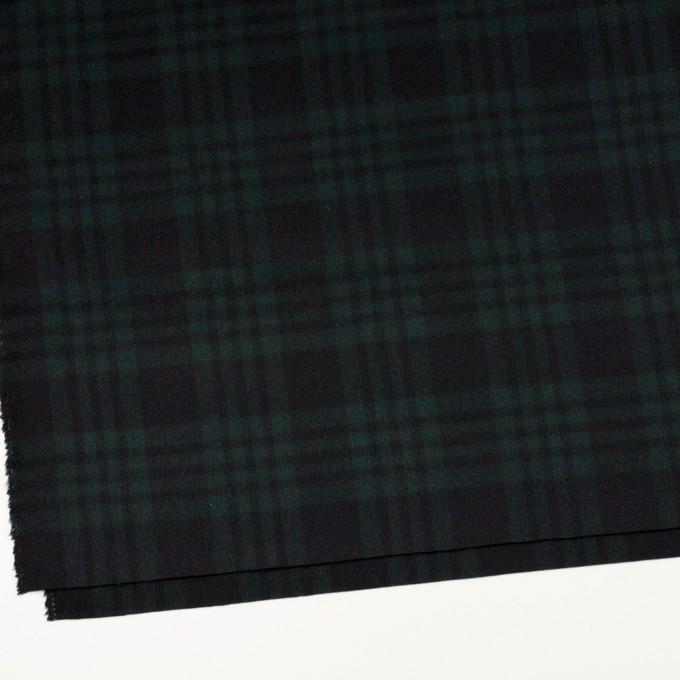 ウール&カシミア×チェック(ブラックウォッチ)×ビーバー イメージ2