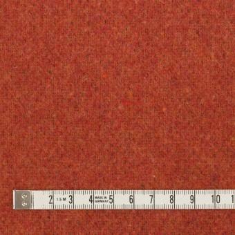 ウール&ポリエステル混×無地(カーキブラウン&トマト)×Wツイード_全4色 サムネイル6