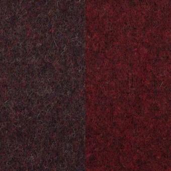 ウール&ポリエステル混×無地(レーズン&ガーネット)×Wツイード_全4色 サムネイル1