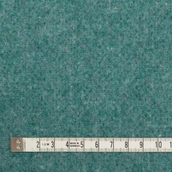 ウール&ポリエステル混×無地(ネイビー&エメラルドグリーン)×Wツイード_全4色 サムネイル6