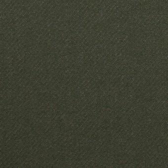 ウール×無地(モスグリーン)×サキソニー サムネイル1