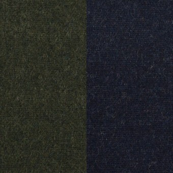 ウール×無地(モスグリーン&ネイビー)×Wフェイスツイード サムネイル1
