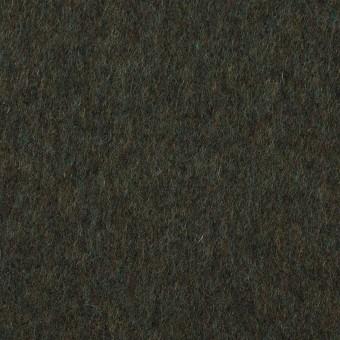 ウール×無地(モスグリーン)×ビーバー サムネイル1