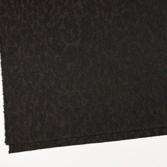 ウール×幾何学模様(カーキベージュ&チャコール)×ジャガード_全2色 サムネイル2