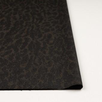 ウール×幾何学模様(カーキベージュ&チャコール)×ジャガード_全2色 サムネイル3
