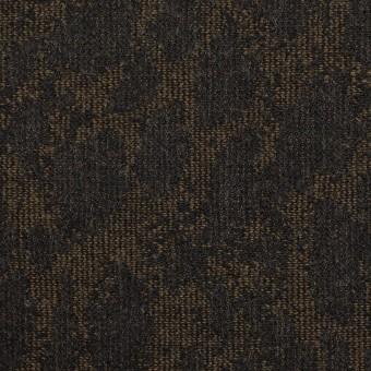ウール×幾何学模様(カーキベージュ&チャコール)×ジャガード_全2色 サムネイル1