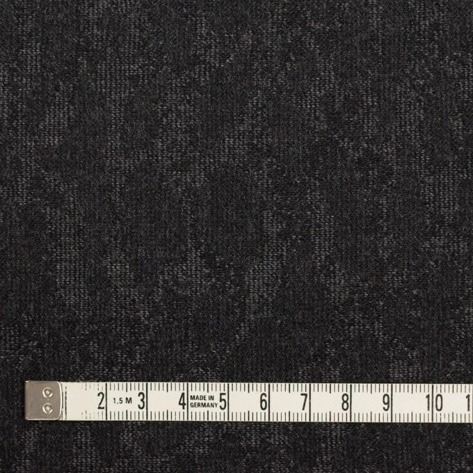 ウール×幾何学模様(グレー&チャコール)×ジャガード_全2色 イメージ4