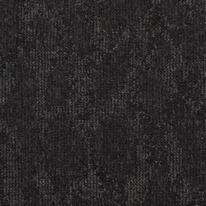 ウール×幾何学模様(グレー&チャコール)×ジャガード_全2色 イメージ1