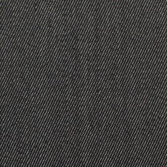 ウール&ポリエステル×無地(チャコールグレー)×二重織サージ サムネイル1