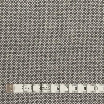 ウール&ポリウレタン×ミックス(グレー)×バーズアイ・ストレッチ サムネイル4
