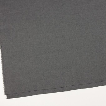 ウール&アンゴラ混×無地(グレー)×サージストレッチ_全2色 サムネイル2