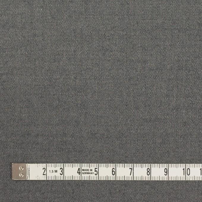 ウール&アンゴラ混×無地(グレー)×サージストレッチ_全2色 イメージ4