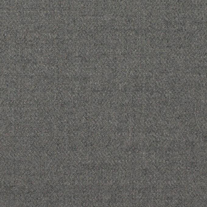 ウール&アンゴラ混×無地(グレー)×サージストレッチ_全2色 イメージ1