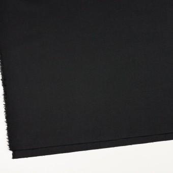 ウール&アンゴラ混×無地(ライトブラック)×サージストレッチ_全2色 サムネイル2