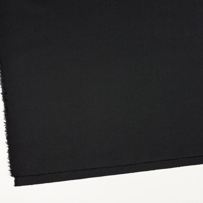 ウール&アンゴラ混×無地(ライトブラック)×サージストレッチ_全2色 イメージ2