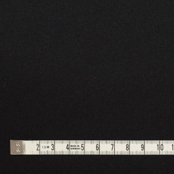 ウール×無地(ブラック)×フラノ(フランネル) サムネイル4