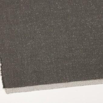 ウール&ナイロン×無地(スレートグレー)×二重織_イタリア製 サムネイル2