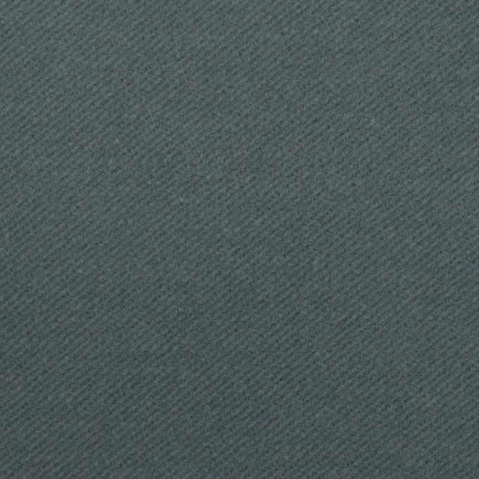 コットン&ポリウレタン×無地(ブルーグレー)×ビエラストレッチ_全4色 イメージ1