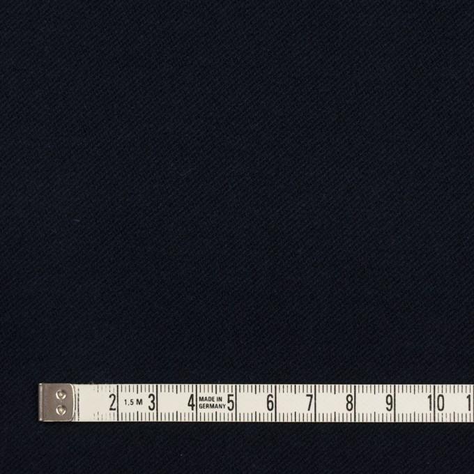 コットン&ポリウレタン×無地(ダークネイビー)×ビエラストレッチ_全4色 イメージ4