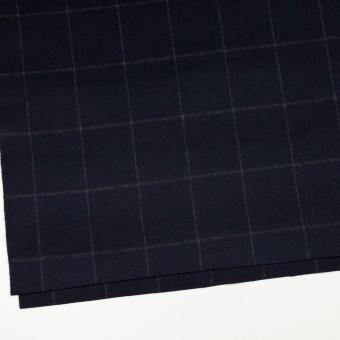 ウール×チェック(ブラック)×ビーバー サムネイル2