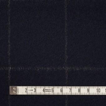 ウール×チェック(ブラック)×ビーバー サムネイル4