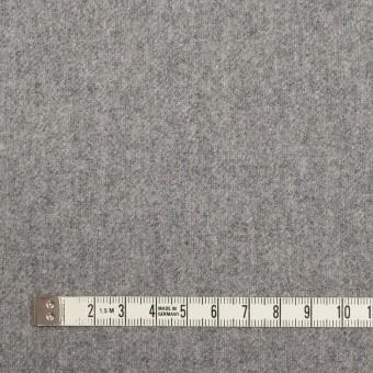 ウール&ナイロン×無地(シルバーグレー)×フラノ(フランネル) サムネイル4