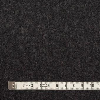 ウール×無地(チャコール)×ソフトメルトン サムネイル4