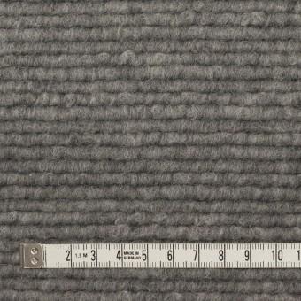 ウール&アクリル混×無地(グレー)×ループニット_イタリア製 サムネイル4