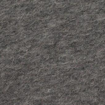【140cmカット】モヘア&ウール混×無地(チャコールグレー)×ループニット_イタリア製_全2色