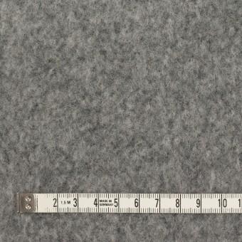 ポリエステル&ウール混×無地(グレー)×フリースニット サムネイル4