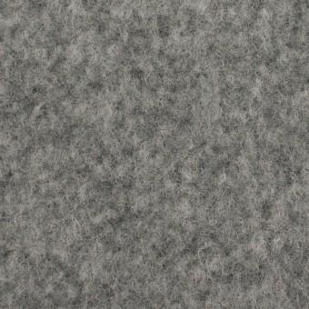 ポリエステル&ウール混×無地(グレー)×フリースニット サムネイル1