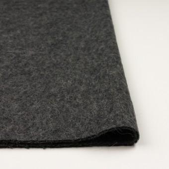 ウール&モヘア×無地(チャコールグレー)×かわり編み サムネイル3
