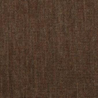 ウール×無地(カーキブラウン)×かわり編み