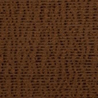 シルク×ボーダー(ブラウン)×ジョーゼット_イタリア製