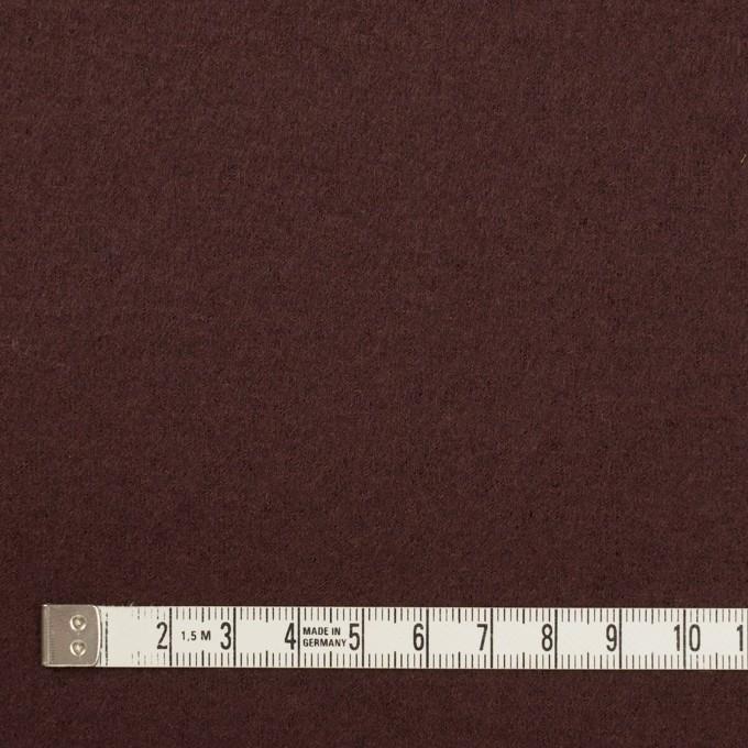ウール×無地(ココア)×圧縮ニット イメージ4