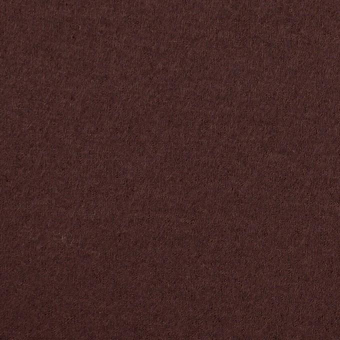 ウール×無地(ココア)×圧縮ニット イメージ1