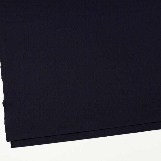 ウール×無地(ダークネイビー)×圧縮ニット イメージ2