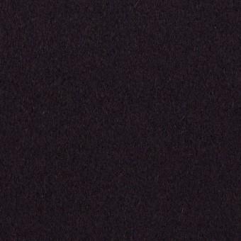 ウール×無地(ダークレーズン)×メルトン サムネイル1