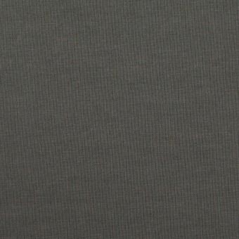 コットン×無地(カーキグレー)×裏毛ニット サムネイル1