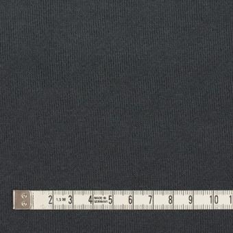 コットン×無地(スチールグレー)×裏毛ニット(裏面起毛) サムネイル4