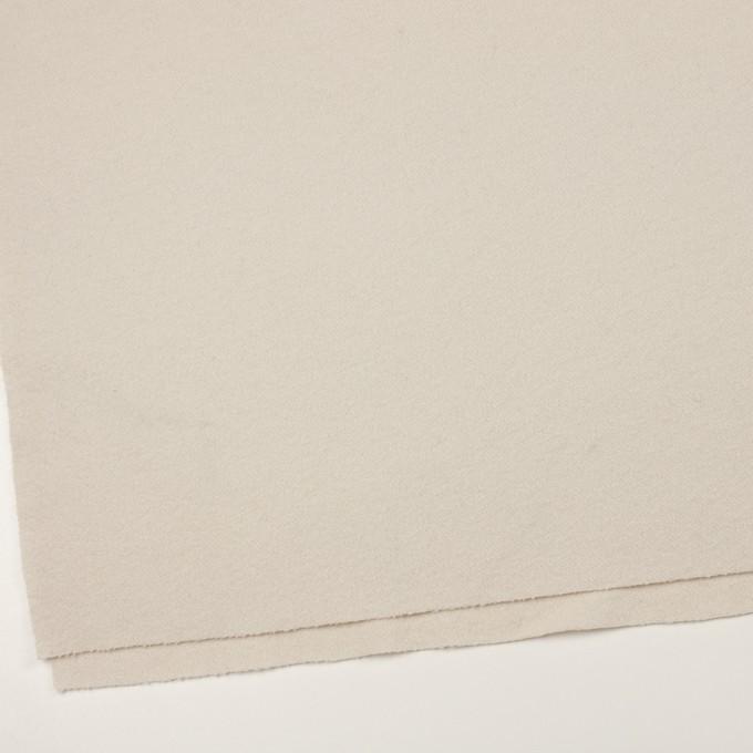 ウール&ナイロン×無地(アイボリー)×かわり織 イメージ2