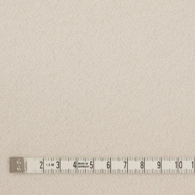 ウール&ナイロン×無地(アイボリー)×かわり織 イメージ4