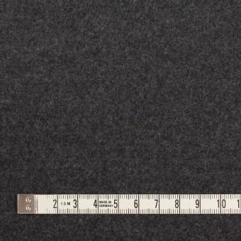 ウール×無地(チャコールグレー)×圧縮ニット サムネイル4